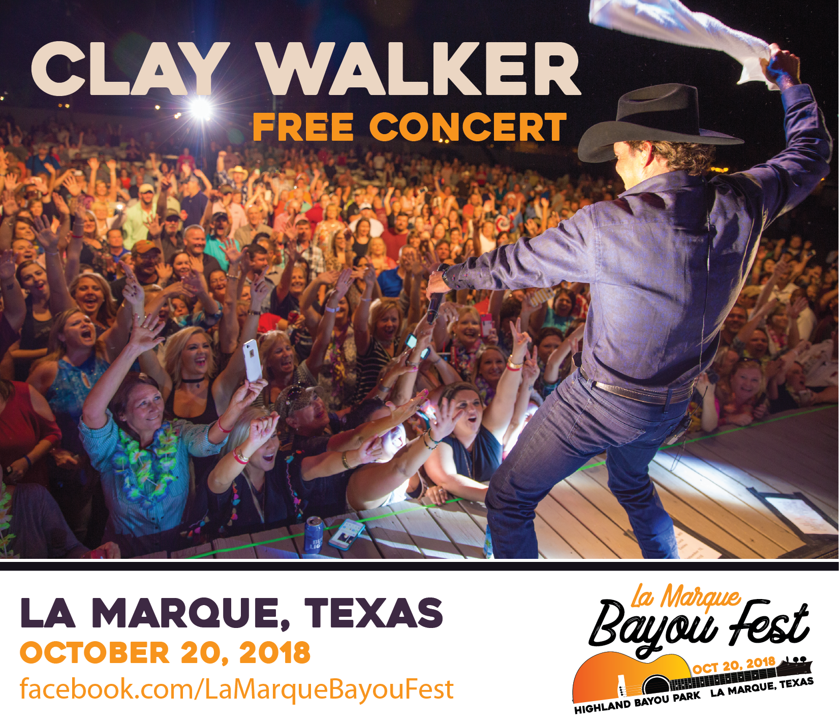 Clay Walker ad