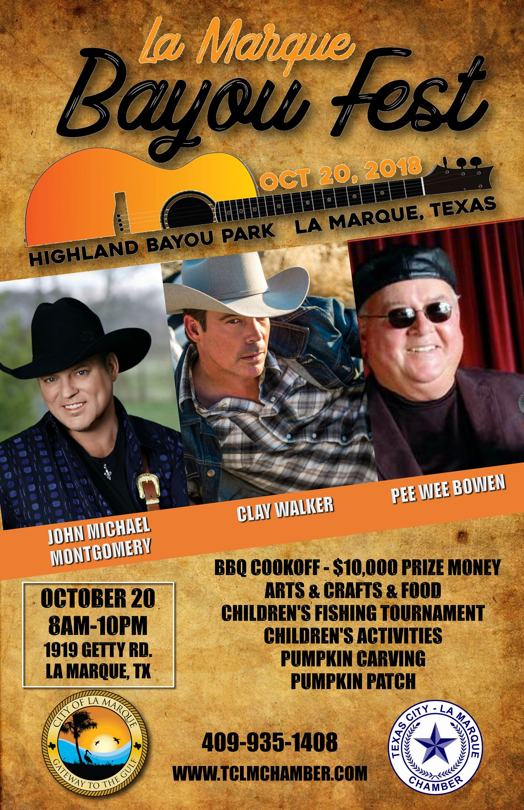 Bayou Fest Entertainment Poster