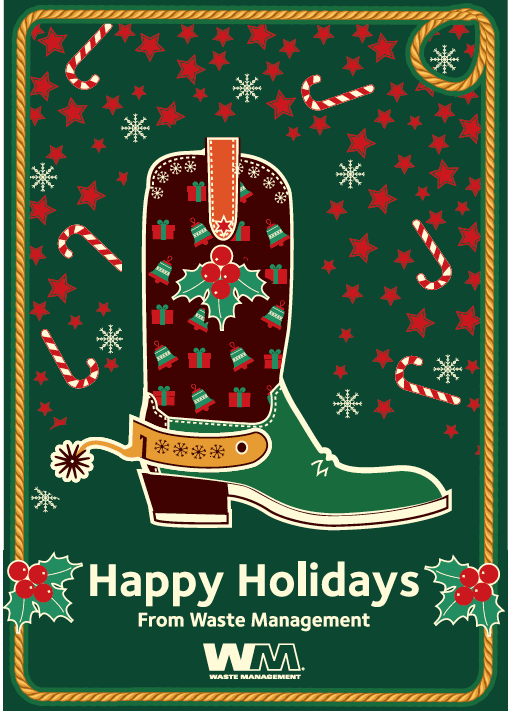 Happy Holidays from Waste Management