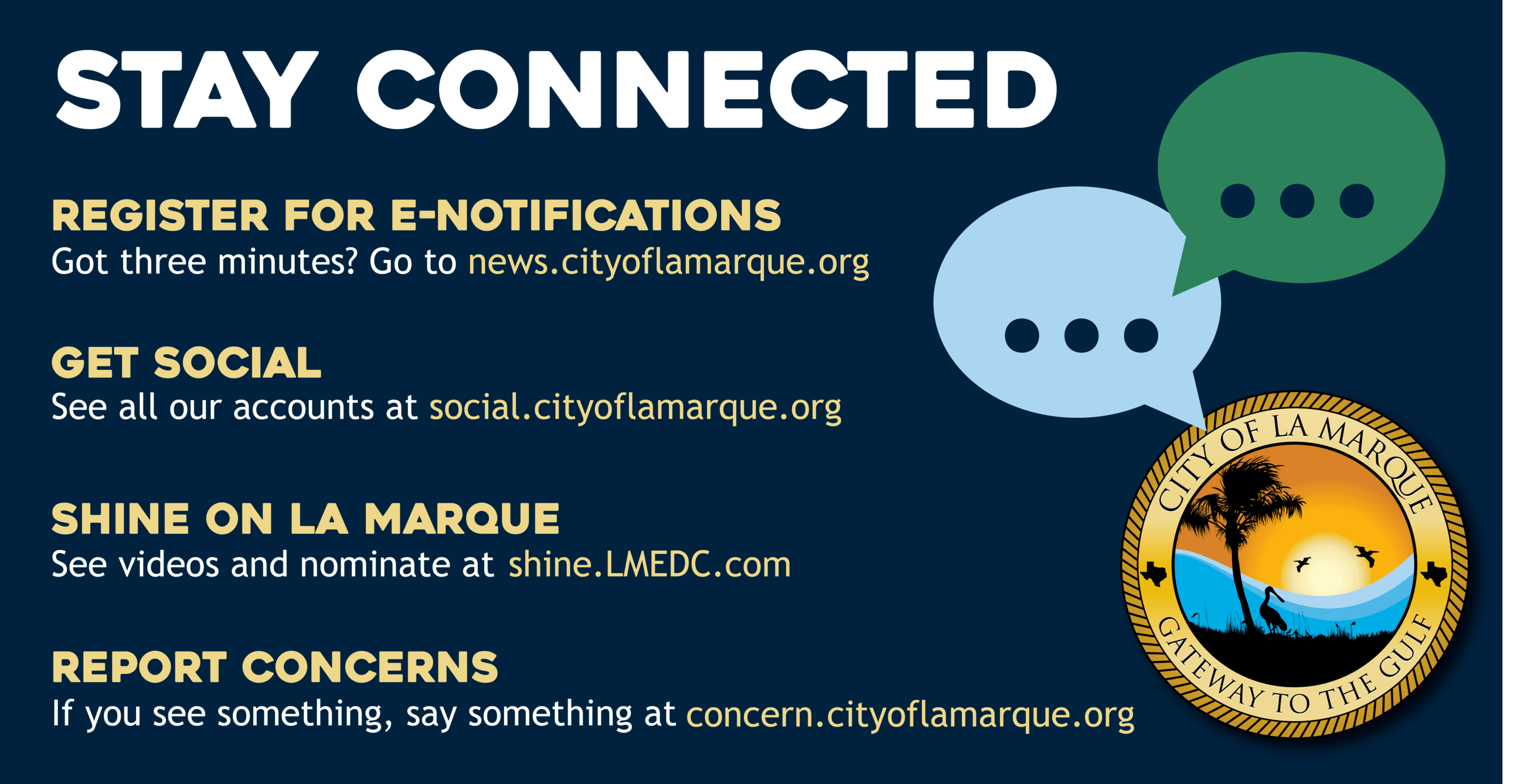 Get Connected with City of La Marque