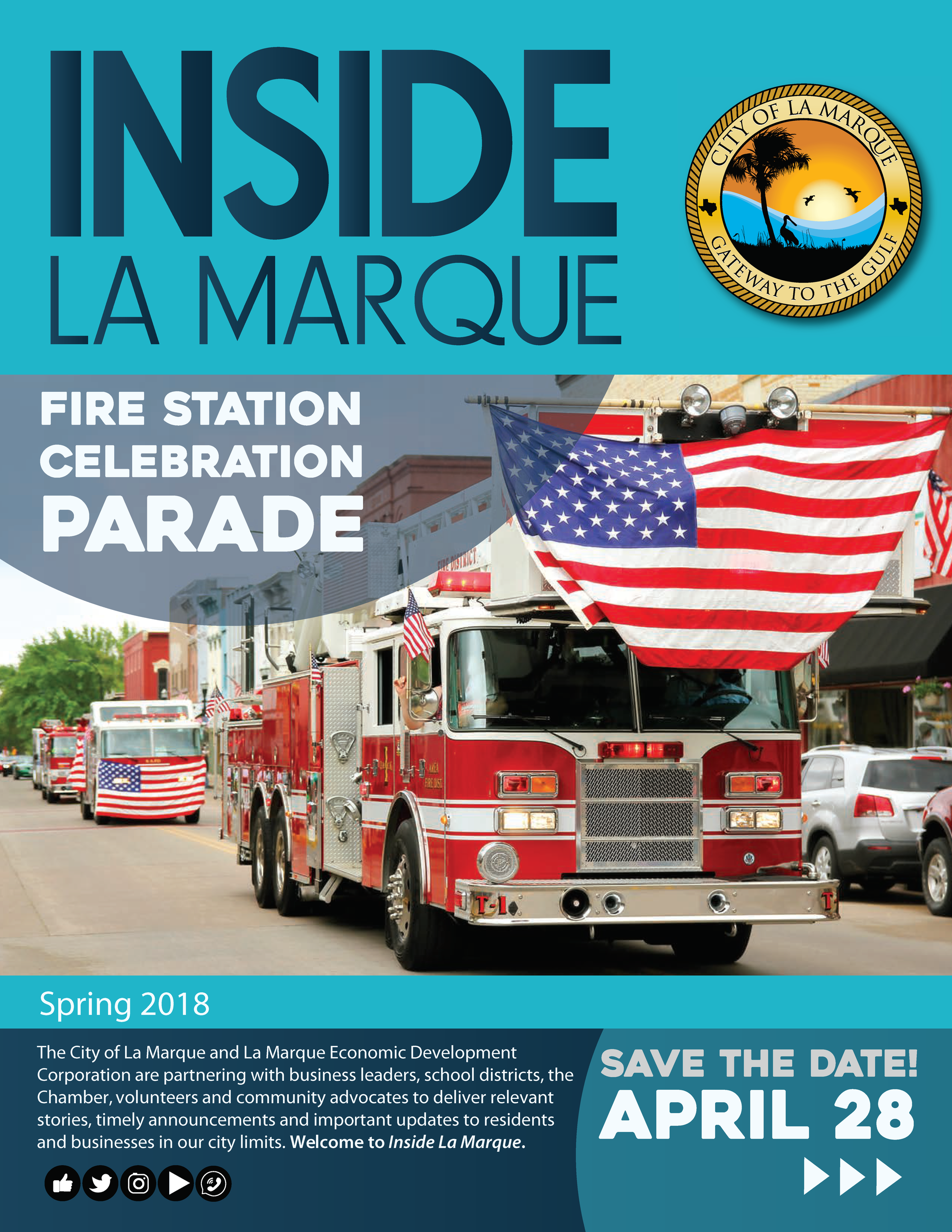 Pages from Inside La Marque Spring 2018